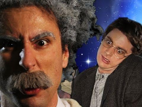 Einstein Versus Hawkins: Epic Rap Battles Of History