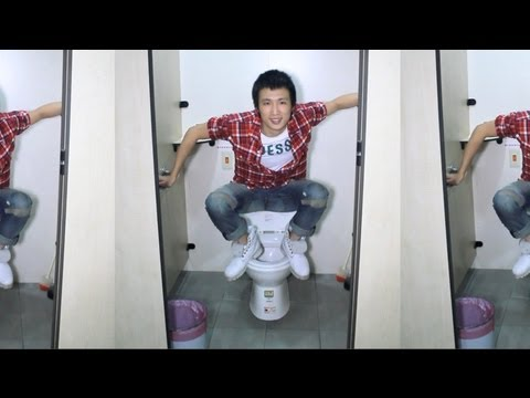 How To Use Squat Toilets