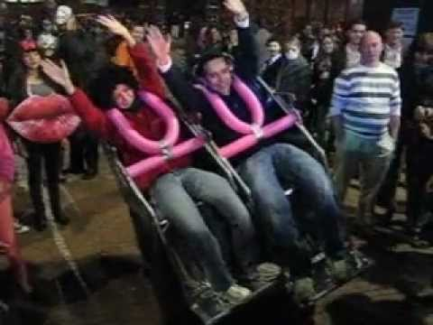 Awesome Roller Coaster Halloween Costumes