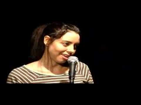 Aubrey Plaza Does Sarah Silverman