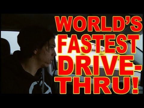 World's Fastest Drive Through Service