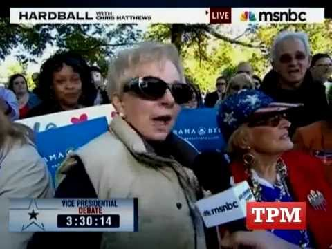 Woman Calls Obama A Communist