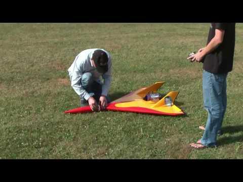 Astounding Jet Propelled RC Plane
