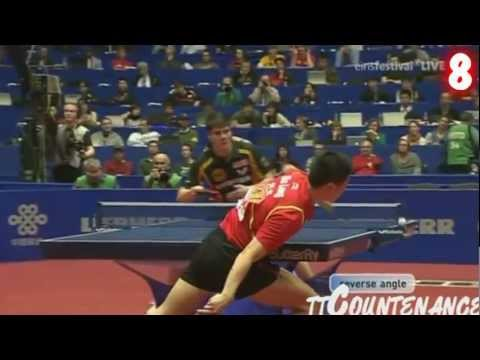 The Best Table Tennis Shots Of 2012