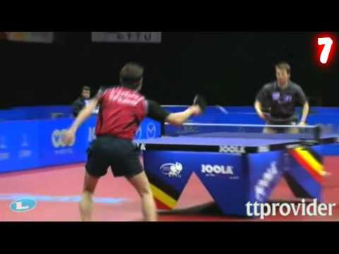 The Best Table Tennis Shots Of 2011