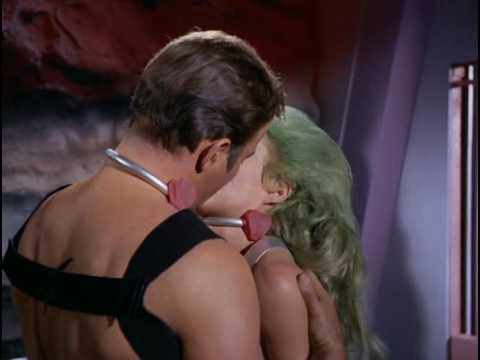 Captain Kirk Knows How To Kiss