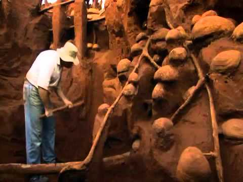 Excavating A Giant Ant Hill