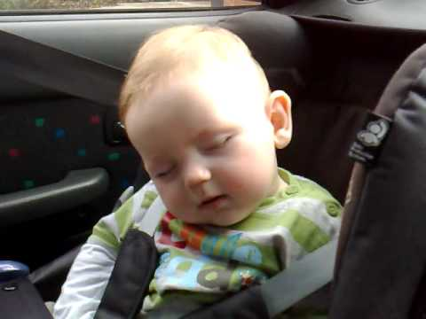 An Adorable Baby Tries To Stay Awake