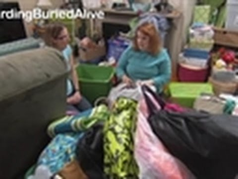 Woman Blames Her Invisible Sister For Hoarding