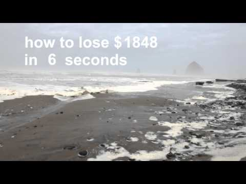 How To Lose $2400 In 24 Seconds
