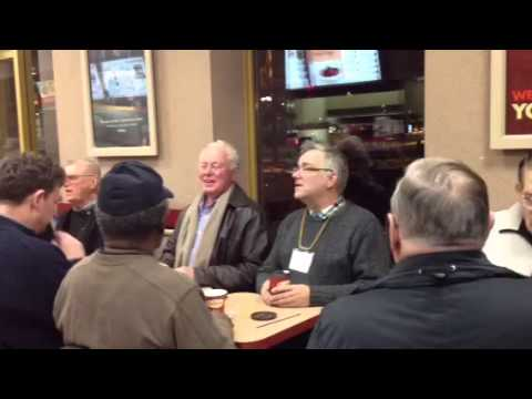Old People Burst Into Song At Restaurant