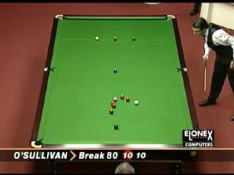 An Epically Awesome Snooker Player