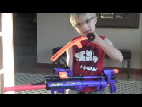 Pulling A Tooth Out With A Nerf Gun