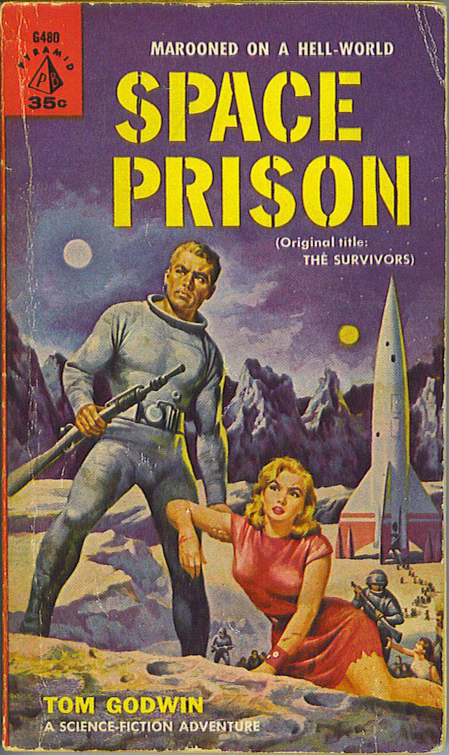 Space Prison paperback cover 1960