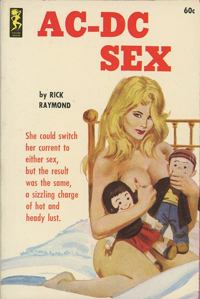 Sexy Pulp Fiction Covers