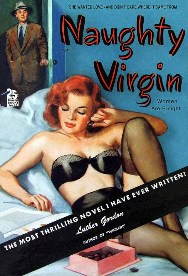 46 Sultry Pulp Fiction Covers