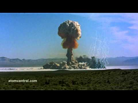 Amazing HD Footage Of Nuclear Tests