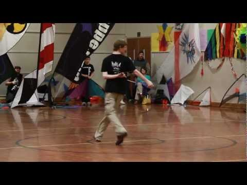 Awesome Indoor Kite Competition Performance