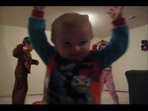2 Year Old Does Awesome Basketball Tricks