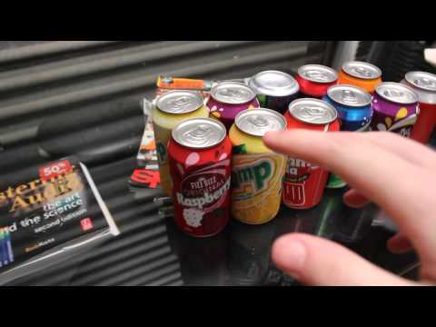 Most Cans Opened In 3 Seconds