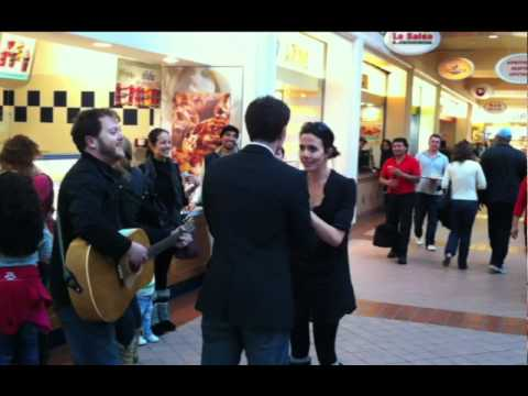 Wedding Proposal In A Food Court Goes Awful