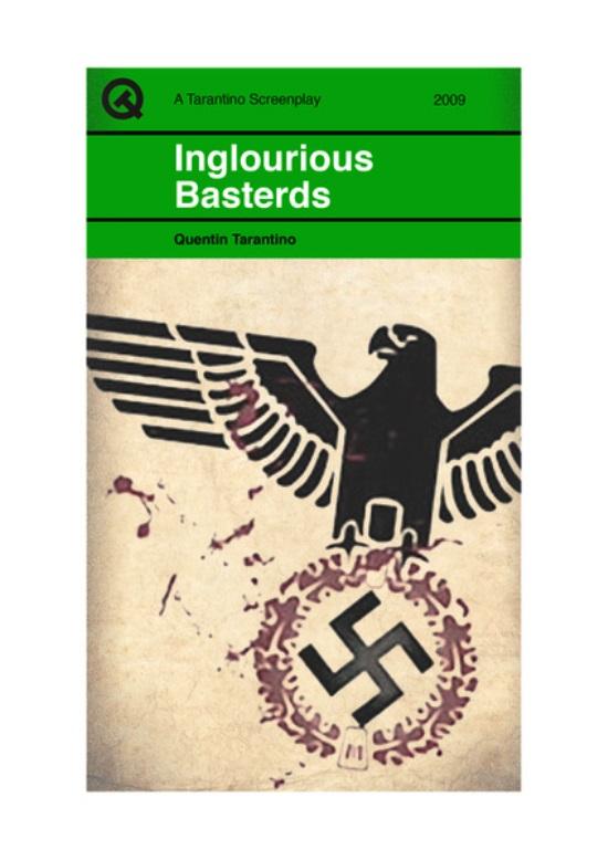 Quentin Tarantino Movies Penguin Books Inglourious Basterds