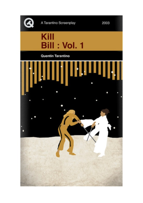 Quentin Tarantino Movies As Penguin Books Kill Bill 1