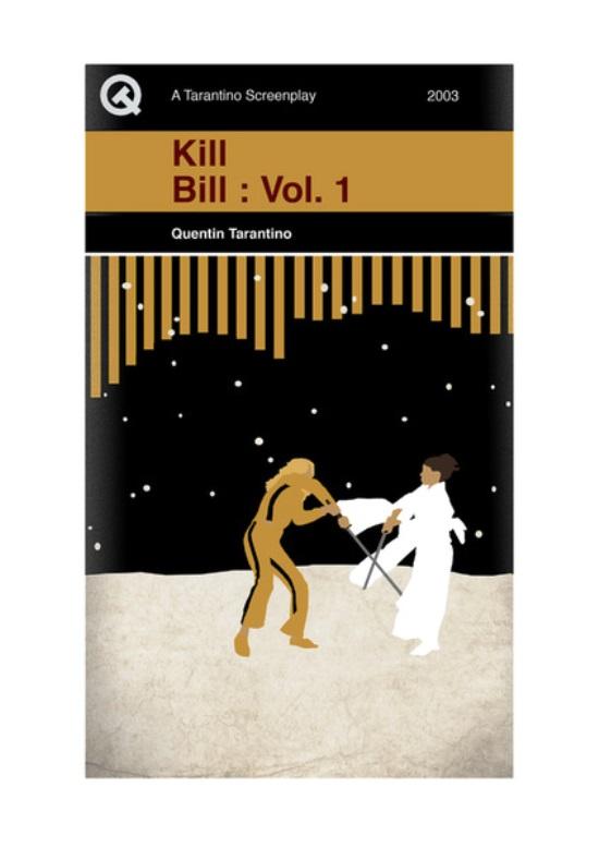 Quentin Tarantino Movies As Penguin Books Kill Bill 1