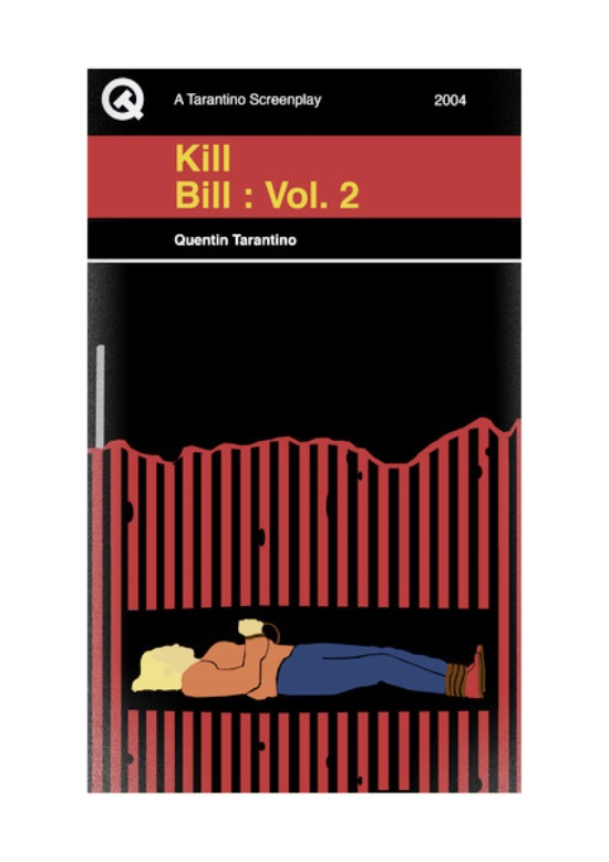 Quentin Tarantino Movies As Penguin Books Kill Bill 2