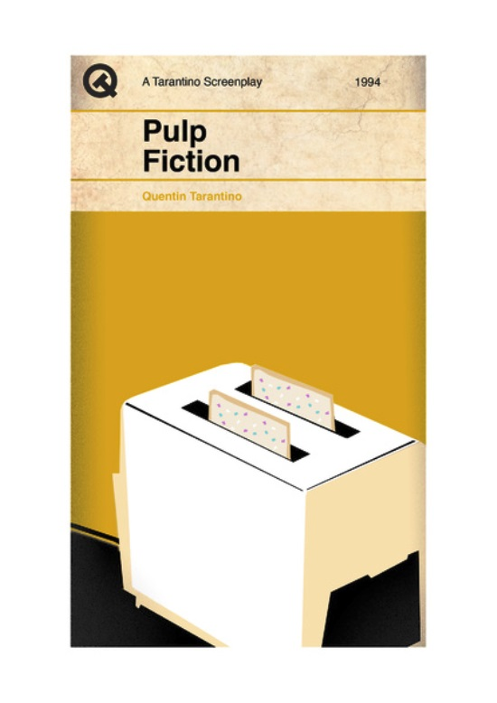 Quentin Tarantino Movies As Penguin Books Pulp Fiction