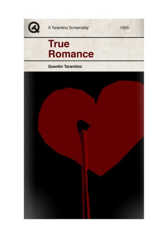 Quentin Tarantino Movies Penguin As Books True Romance