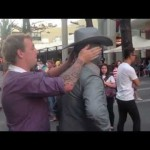Street Performer Punches Obnoxious Guy
