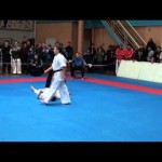 An Epic Karate Knockout