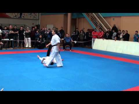 An Epic Karate Knockout