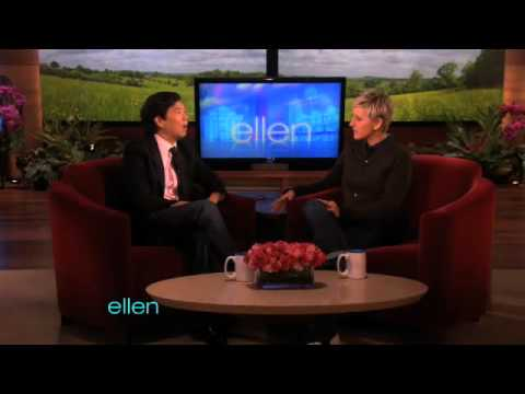 Ken Jeong's Awesome Entrance To Ellen