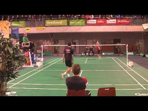 Ridiculous Badminton Shot