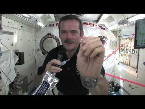 How You Wash Your Hands In Space