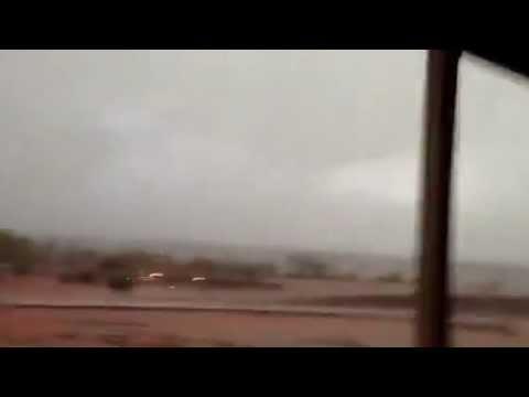 A Very Close Lightning Strike