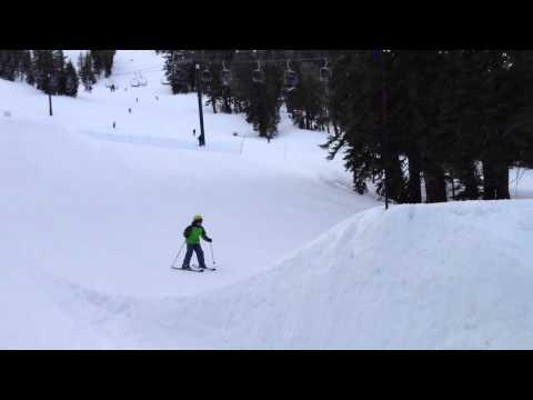 First Attempt At A Ski Jump