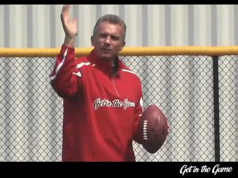 Joe Montana Teaches You How To Throw A Football