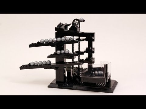Video thumbnail for youtube video A Clock Made Entirely Of Legos – PBH2