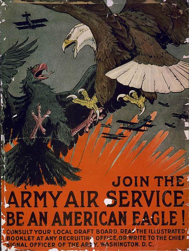 air-force-recruitment-poseters-propaganda-american-eagle