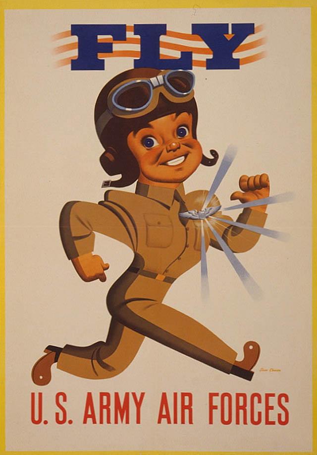 air-force-recruitment-poseters-propaganda-fly