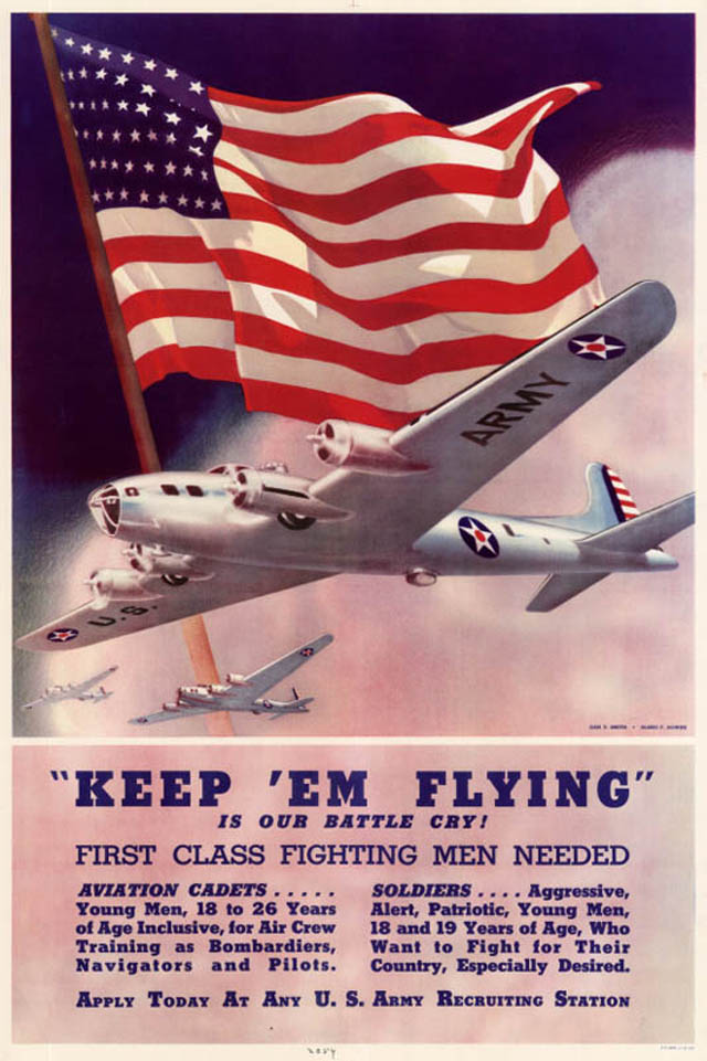Awesome Vintage Air Force Recruitment Posters