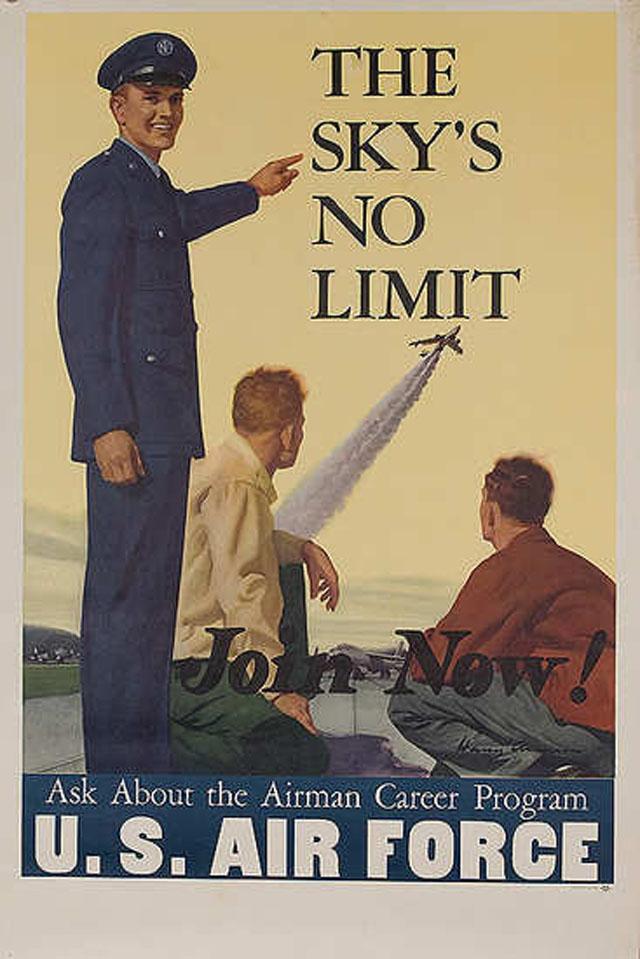 air-force-recruitment-poseters-propaganda-skys-no-limit