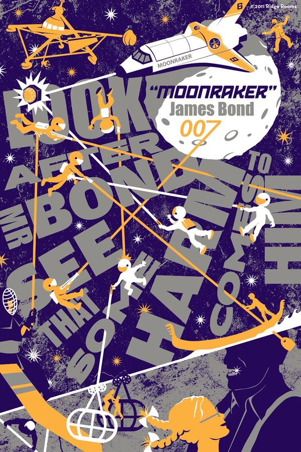 awesome-james-bond-art-posters-moonraker