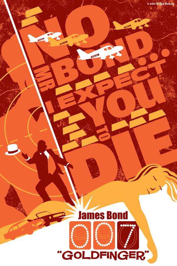 awesome-james-bond-art-posters-orange