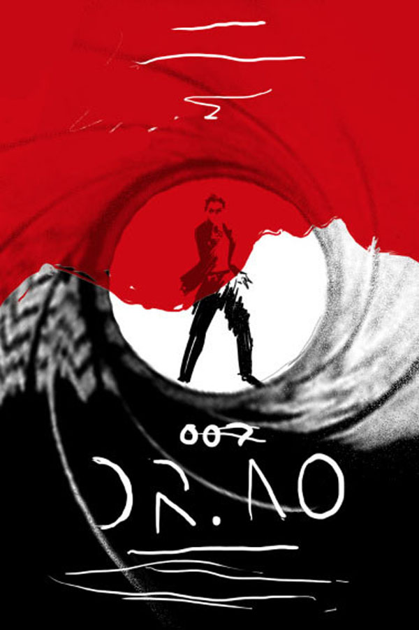 awesome-james-bond-art-posters-red