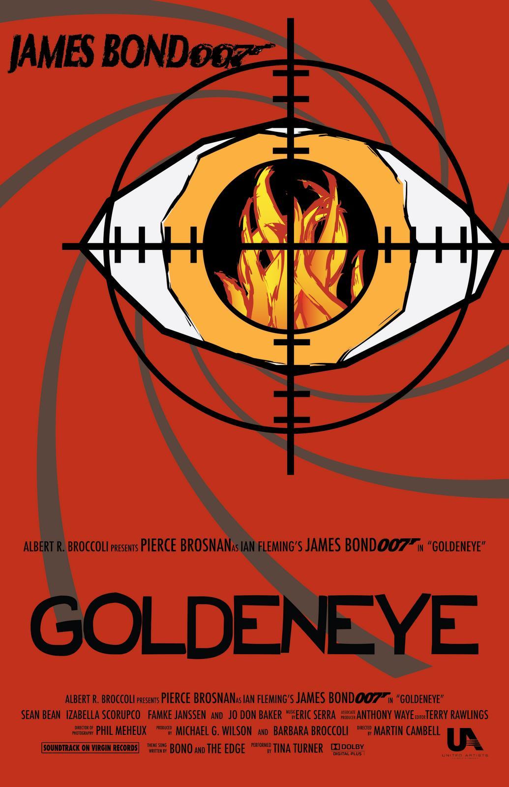 Amazing James Bond Movie Poster Art Target