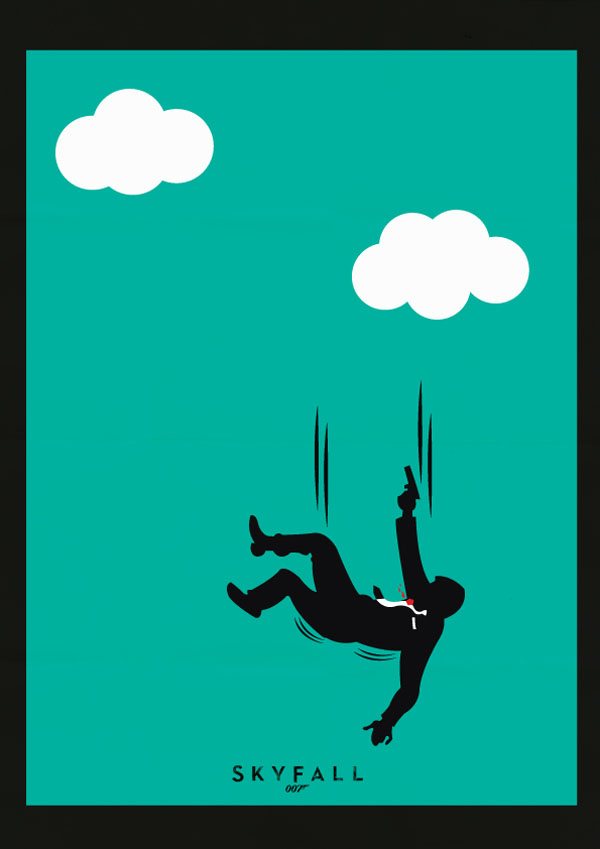 awesome-james-bond-art-posters-teal